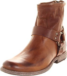 1c7e653bc624 Frye Women s Veronica Back Zip Short Dark Brown Antique Pull Up Boot ...