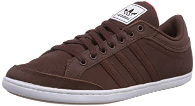 Originals Plimcana Low Leather Brown Men's Sneakers adidas CBeWordx