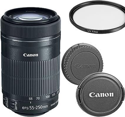 Canon Ef S 55 250 Mm F 4 5 6 Is Stm Teleobjektiv Zoom Kamera