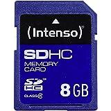 Intenso SDHC 8GB Class 4 Speicherkarte blau