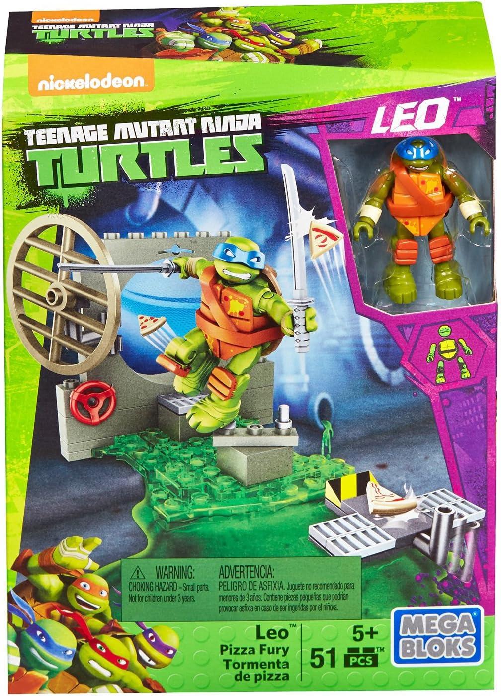 Amazon.com: Mega Bloks Teenage Mutant Ninja Turtles Leo ...