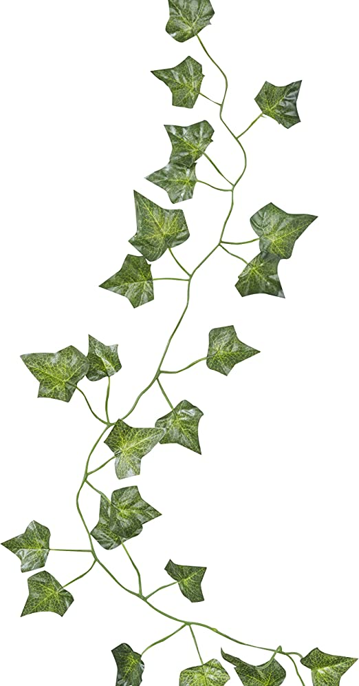 Ginger Ray 5 Pack of Artificial Fake Hanging Vines Plant Leaves Garland for  Wedding Decorations , Beautiful Botanics