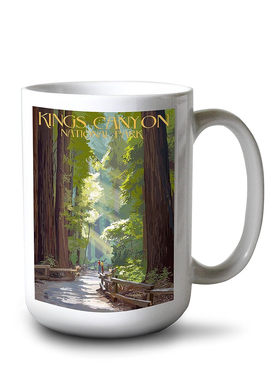 超大特価 Kings Canyon国立公園、カリフォルニア – Kings Pathwayとハイカー – 15oz Mug LANT-3P-15OZ-WHT-36992 Mug B074S5G67D 8oz Coffee Bag 8oz Coffee Bag, テンカワムラ:004b9df5 --- podolsk.rev-pro.ru