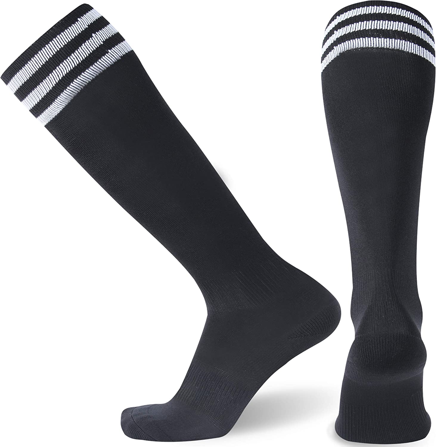 RTZAT Basketball Crew Socks with Basketball Logo Athletic Cushion Gym Crew Socks Women Basketball Socks