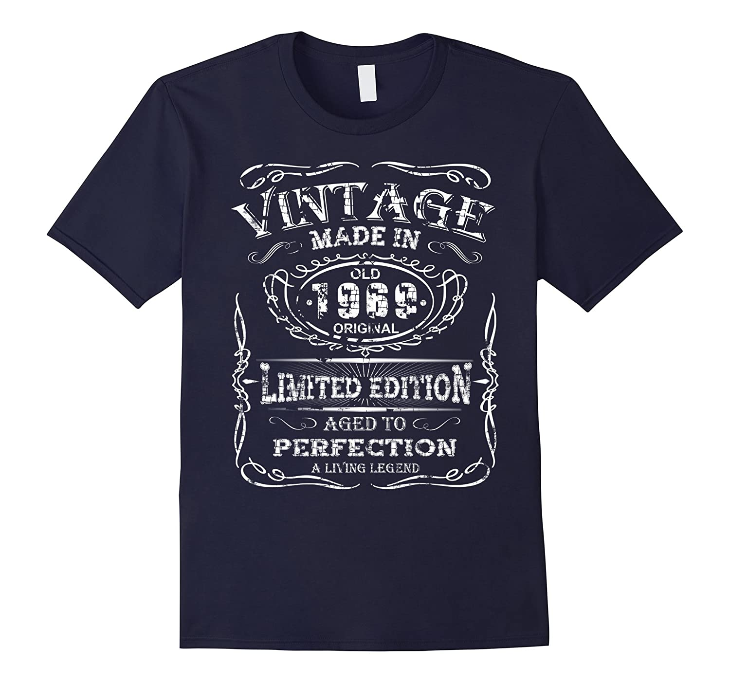 Vintage Premium Made In 1969 T-Shirt - Royalty Birthday Gift-RT