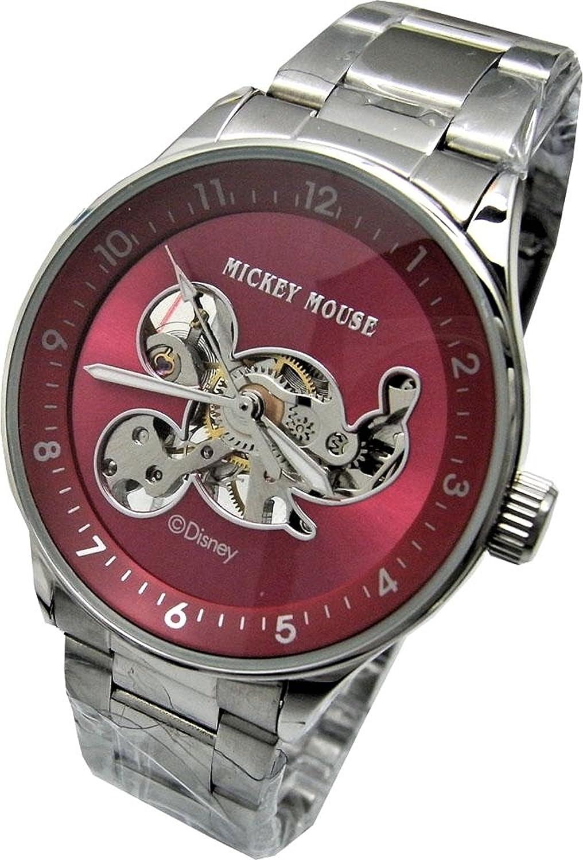 Disney edición limitada unisex reloj Mickey Mouse. Mecánica movimiento (no recargable). Mano bobinado para cada 24 horas.: Amazon.es: Relojes