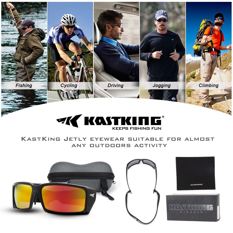dddc3a3a8b KastKing Sport Fishing Sunglasses (Red)  Amazon.co.uk  Sports   Outdoors