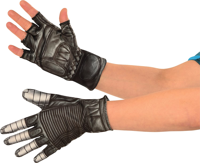 Captain Marvel Child Gloves Costume Accessory NEW
