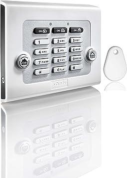 Somfy 2401241, Teclado para alarma, Alarma casa, Compatible ...