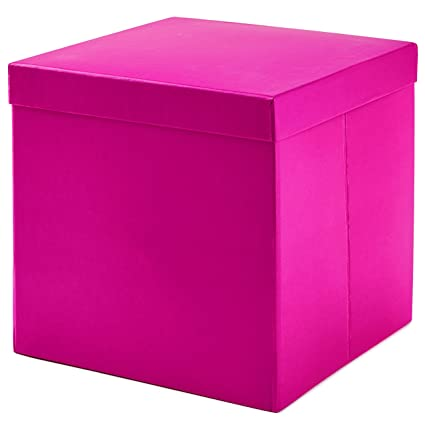 Image Unavailable. Image not available for. Color Hallmark Large Gift Box with Lid ...  sc 1 st  Amazon.com & Amazon.com: Hallmark Large Gift Box with Lid (Hot Pink): Kitchen ...