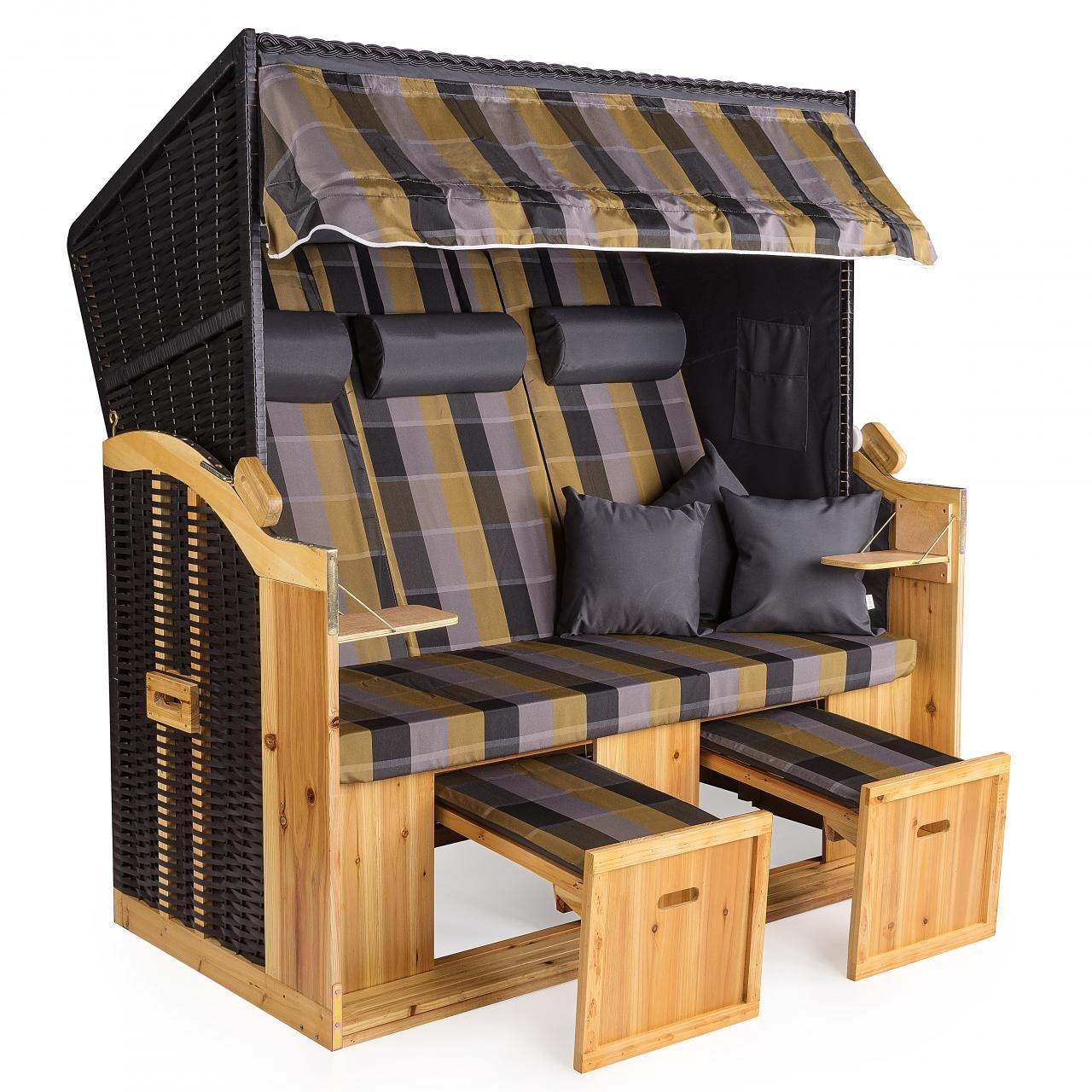 strandkorb deluxe polyrattan sylt ostsee rugbyclubeemland. Black Bedroom Furniture Sets. Home Design Ideas