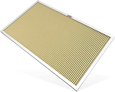 K&N 20x20x1 HVAC Air Filter; Lasts a Lifetime; Washable; Merv 11; Filters Allergies, Pollen, Smoke, Dust, Pet Dander, Mold, Smog, and More; Breathe Cleanly at Home, HVC-12020