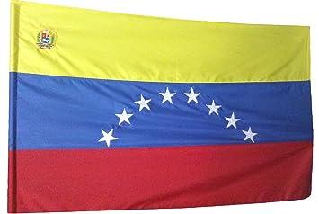 BANDERA DE VENEZUELA 150 CENTIMETROS DE ANCHO POR 95 CENTIMETROS DE ALTO