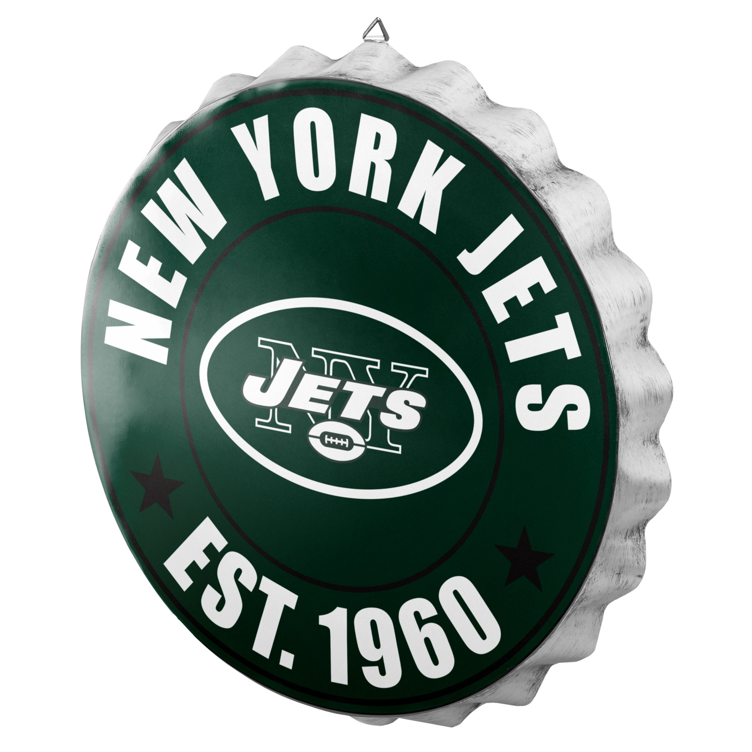 New York Jets 2016 Bottle Cap Wall Sign