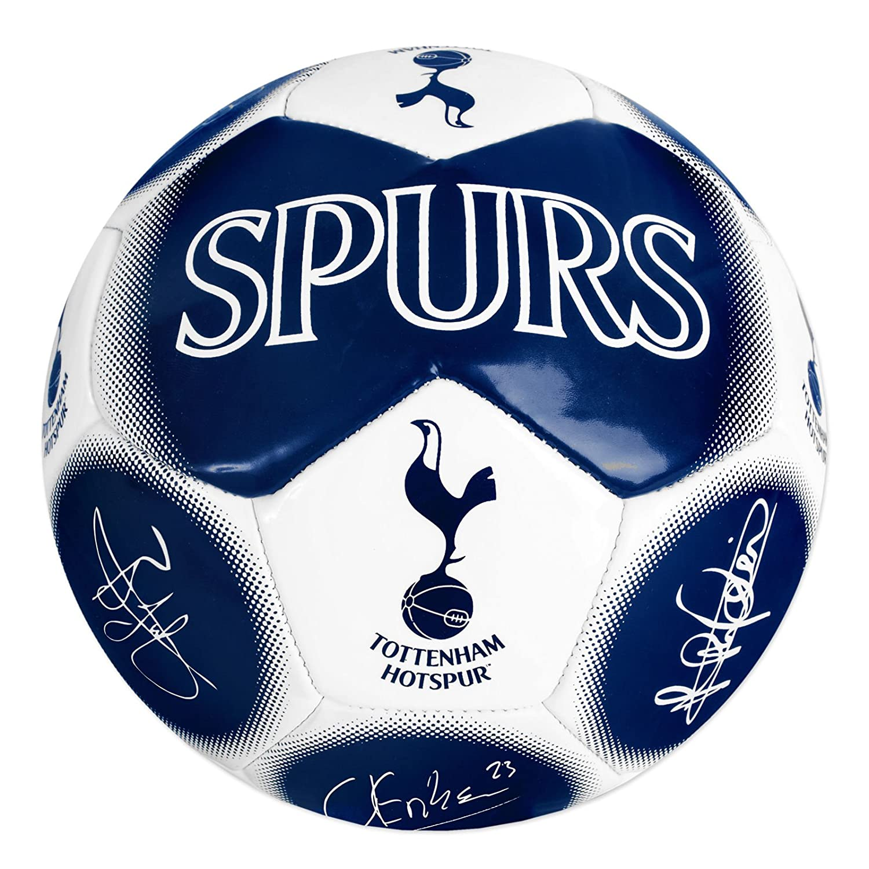 Tottenham Hotspur FC公式ギフトサイズ5署名フットボールNavy B010JBEF3W
