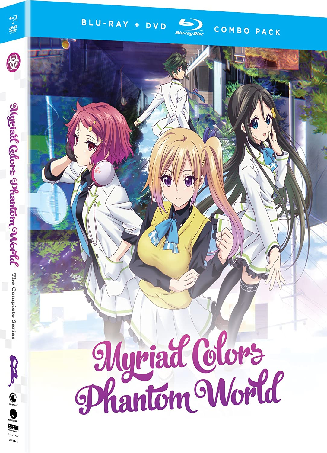 Myriad Colors Phantom World: Comp Series [Blu-ray] [Import] B074WVBZJS