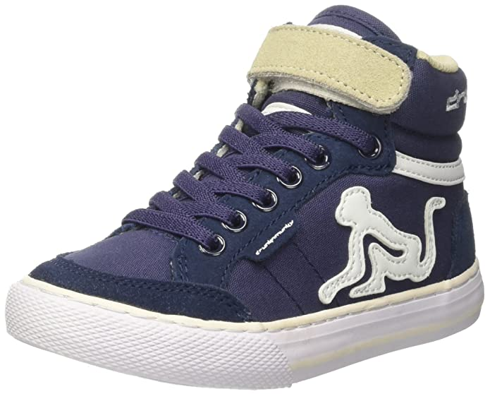 DrunknMunky Boston Vintage, Zapatillas de Tenis para Hombre, Azul (Navy Blue 027), 43 EU
