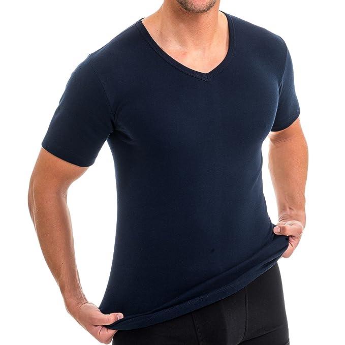 HERMKO Mens Clothing Short Sleeve Vest