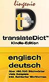 translateDict™: Lingenio Wörterbuch Englisch-Deutsch: Direktes Nachschlagen von Wörtern aus Ihrem Amazon Kindle heraus