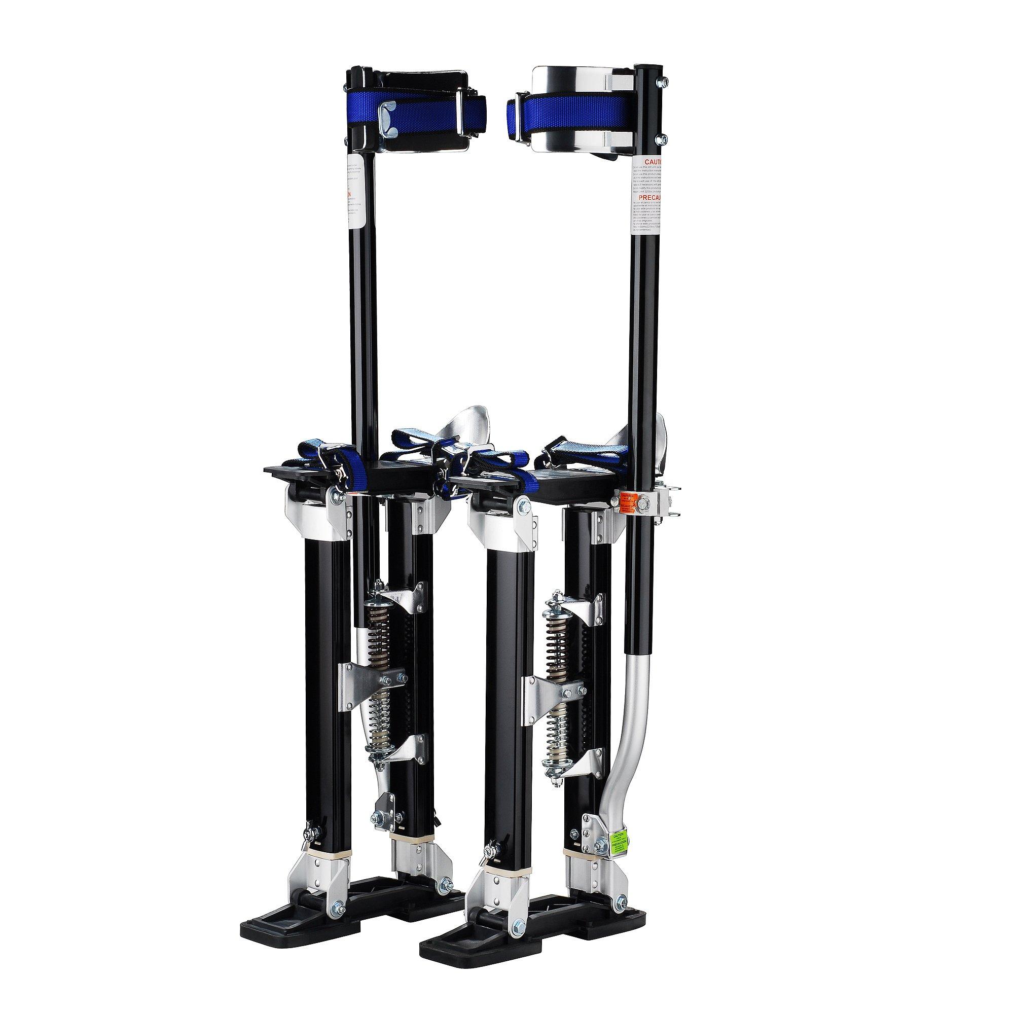 Pentagon Tools 1116 Black Drywall Stilt 18-30 Pentagon Tool Professional 18''-30'' Black Drywall Stilts Highest Quality