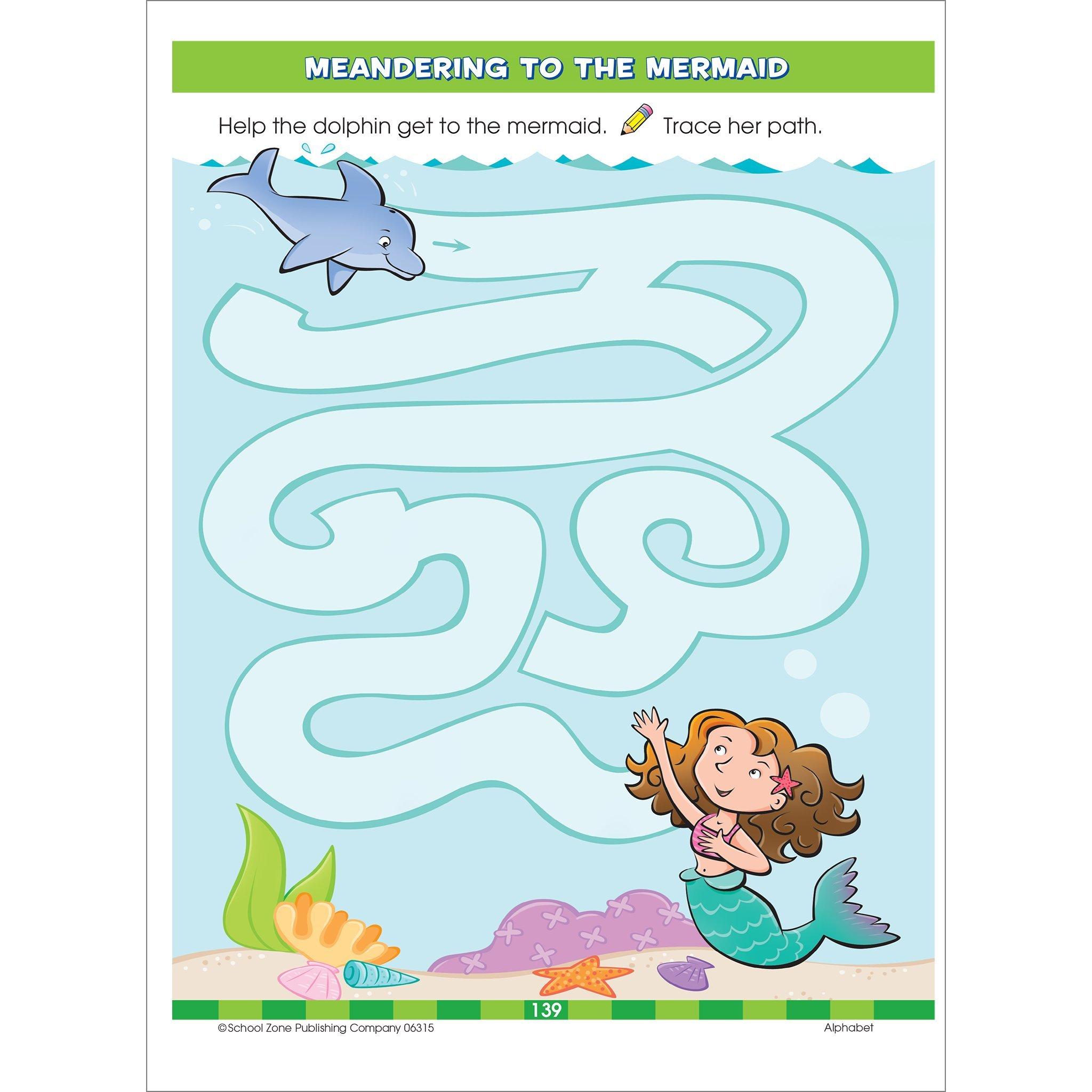 3-Pack) Big Preschool Workbook (3 x 06315R): School Zone Publishing ...
