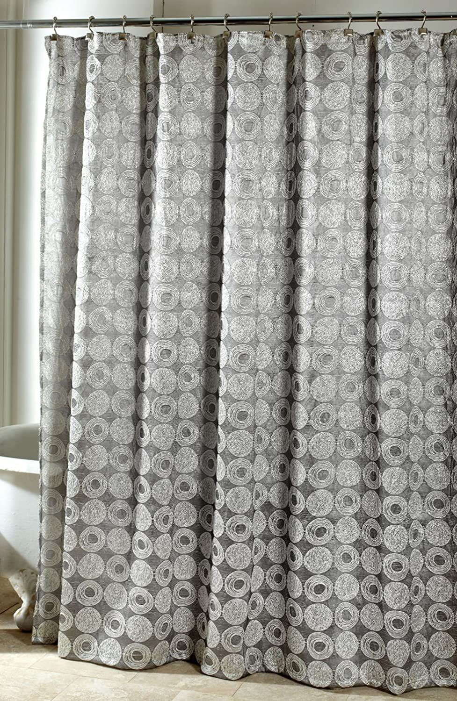 Sinatra silver shower curtain - Amazon Com Avanti Linens Galaxy Shower Curtain Silver Home Kitchen