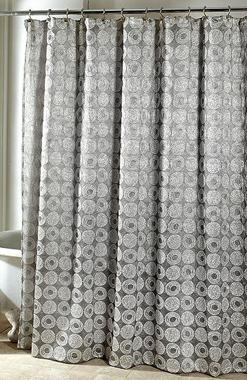 Avanti Linens Galaxy Shower Curtain Silver
