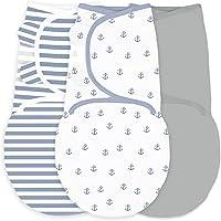 Amazing Baby by Swaddledesigns, Set de 3 Mantas