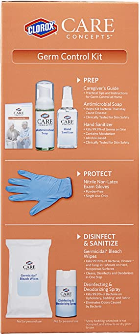 Amazon.com: Clorox® CareConcepts Germ Control Kit: Health & Personal Care