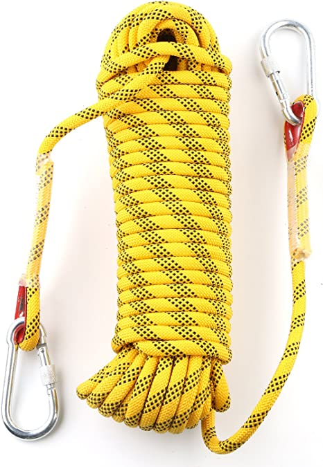 10m Rock Climbing Rope Outdoor Safety Mountain Rescue Escape Parachute Rope UK