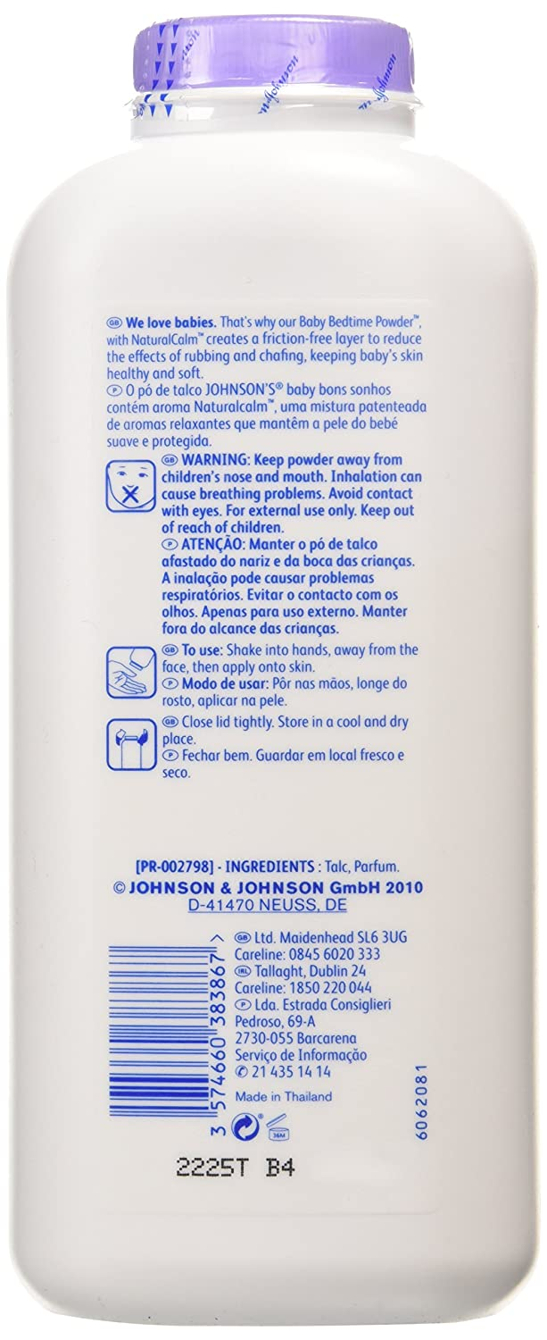 Johnson's Baby Bedtime Powder, 400g Johnson and Johnson 5337704-s