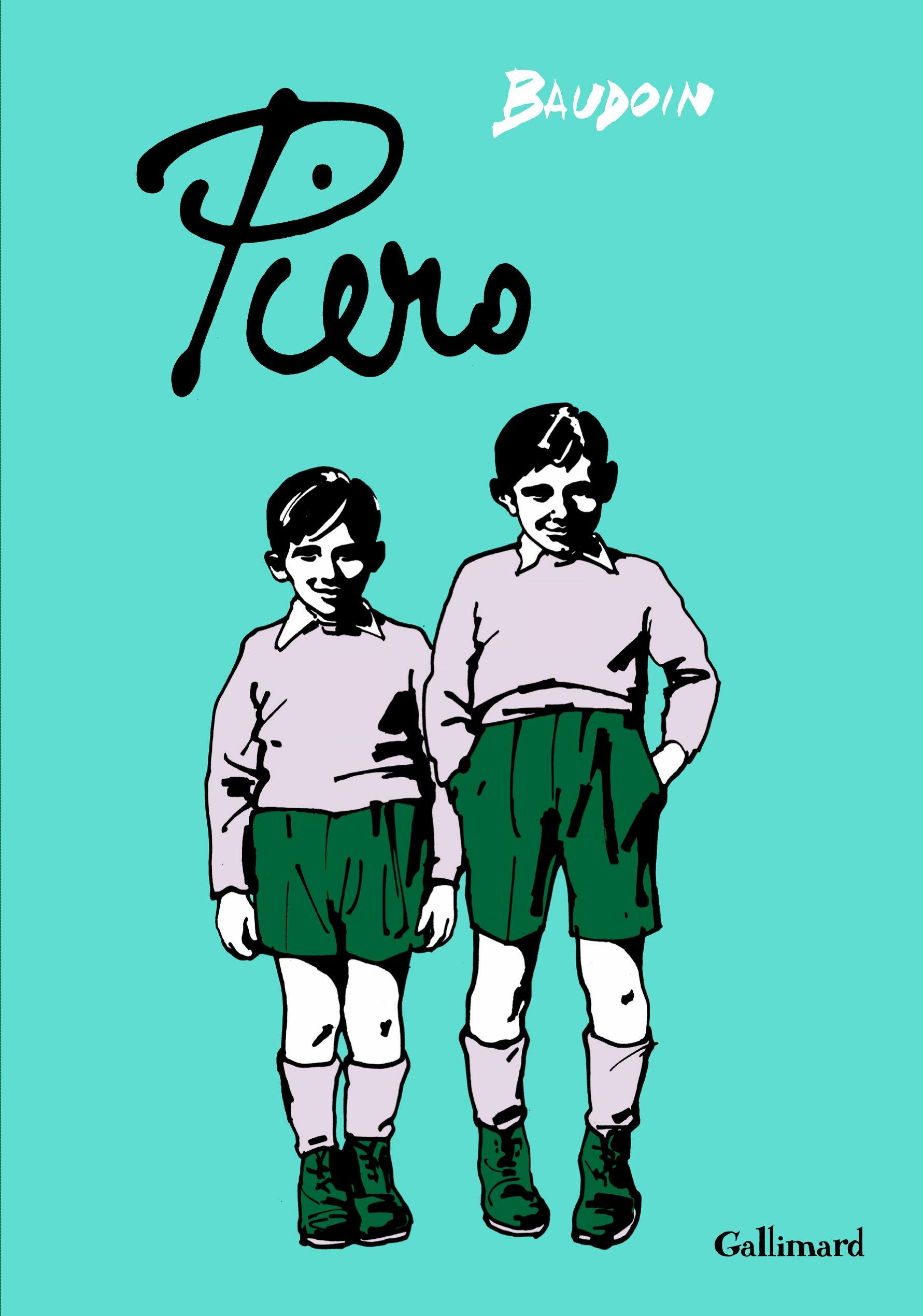 Piero Album – 1 septembre 2011 Edmond Baudoin Gallimard Jeunesse 2070638065 201109563