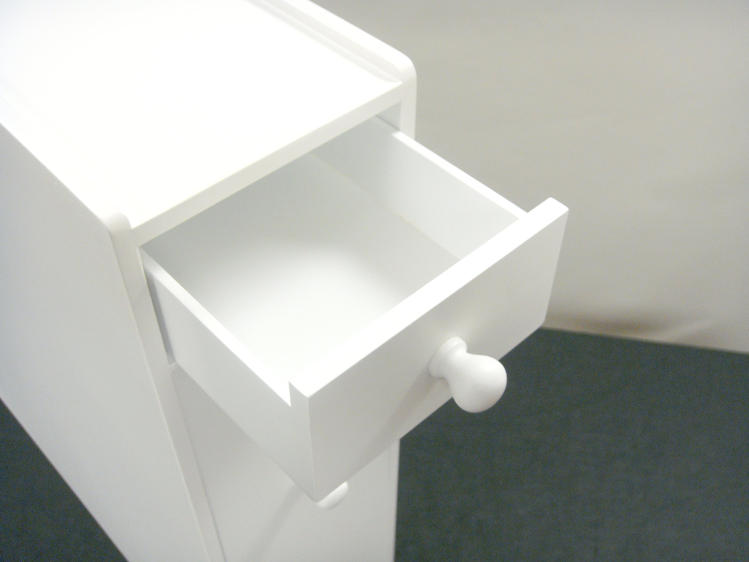 Proman Products Bathroom Floor Cabinet Wood in Pure White by Proman Products (Image #9)