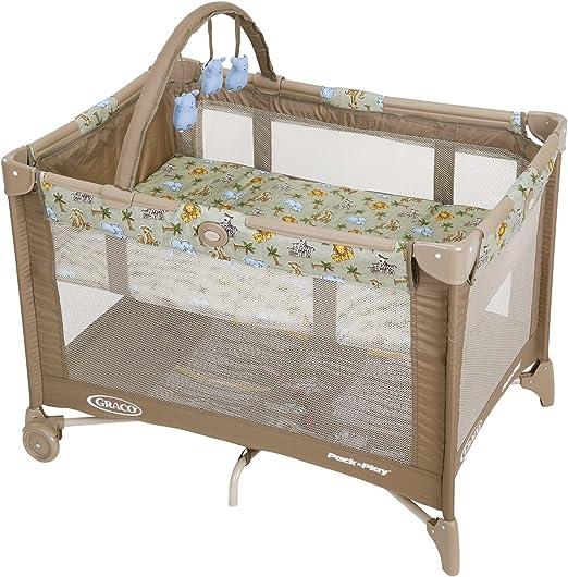 Graco Pack N Play - Parque infantil con base de altura ajustable ...