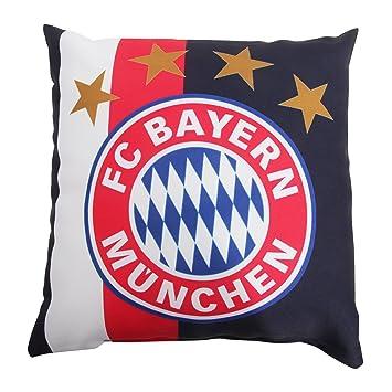 Con el escudo del FC Bayern Munich cojín calentador DE, 37 x 37 cm