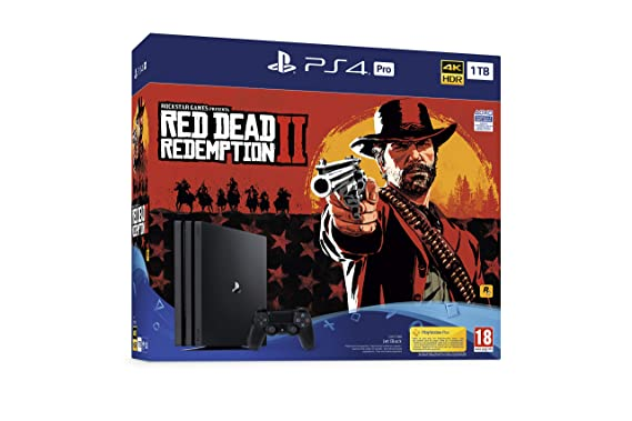 PlayStation 4 Pro (PS4) - Consola de 1 TB + Red Dead ...