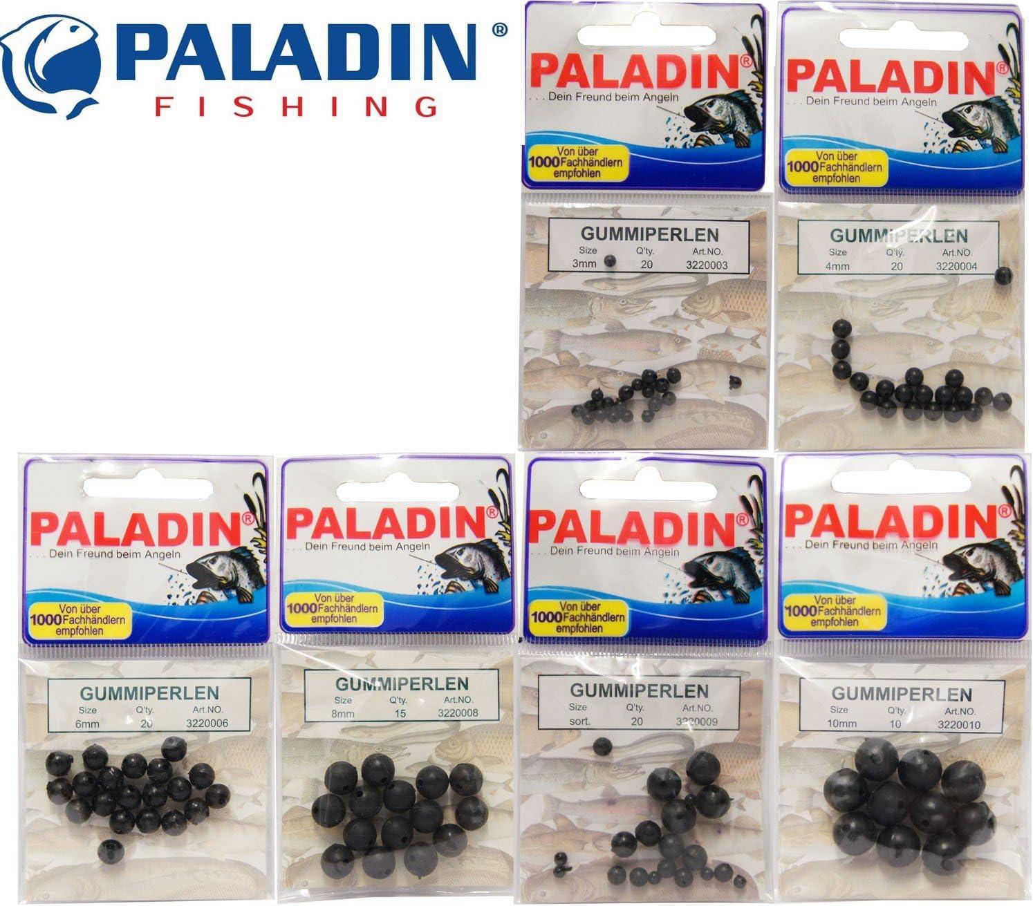 20 Stück Gummi Perlen 4 6 Shock Beads Rubber Beads Gummiperlen 8 mm