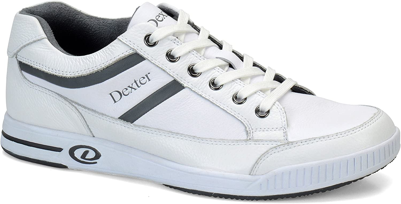 Dexter Bowling Mens Keegan Plus White Grey