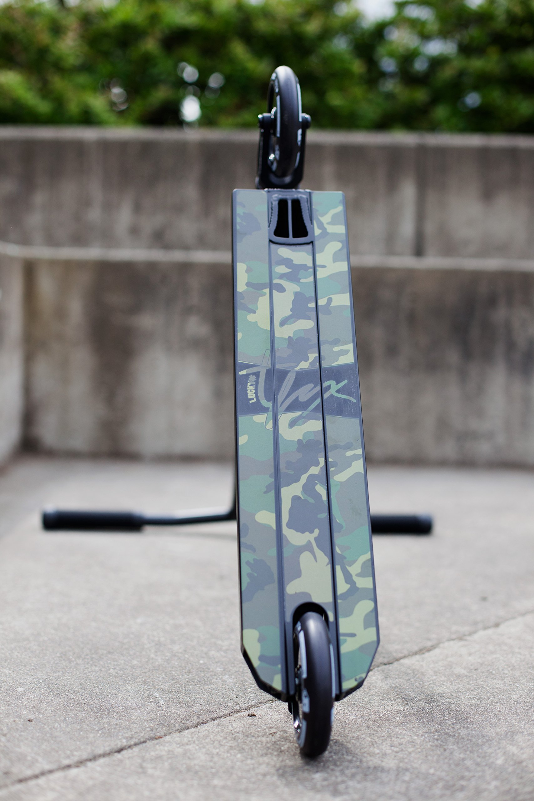 Lucky TFOX Sig Pro Complete Freestyle Scooter, Black/Camo