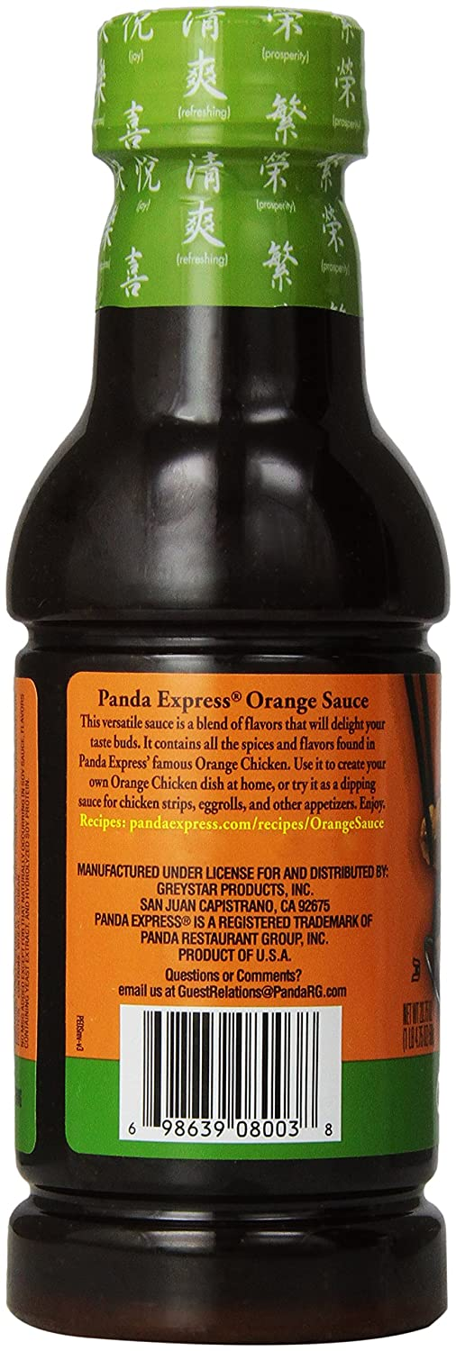 Amazon.com : Panda Express Orange Flavored Sauce, 20.75-Ounce (Pack of 6) :  Gourmet Sauces : Grocery & Gourmet Food