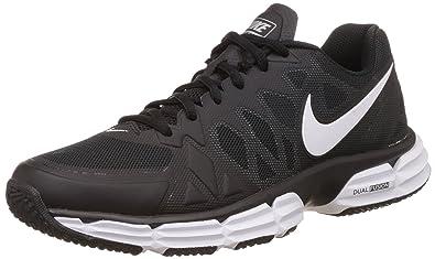 Nike Mens Dual Fusion Tr 6 Black White Mtllc Slvr Pr Pltnm Training 535583032892