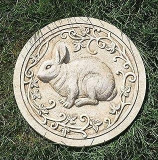 Amazoncom Decorative Stones Rabbit Garden Accent Patio Lawn