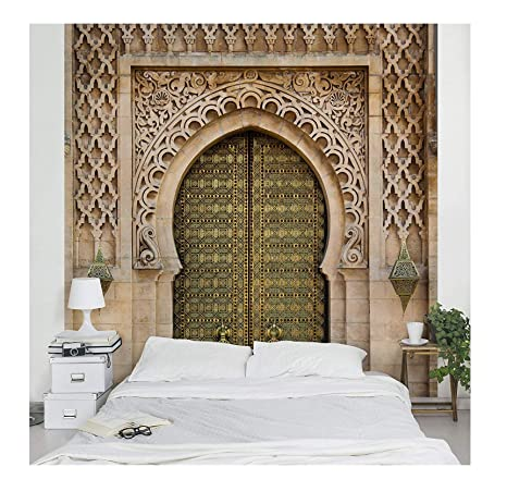 Apalis Vliestapete Oriental Gate Fototapete Quadrat | Vlies Tapete  Wandtapete Wandbild Foto 3D Fototapete für Schlafzimmer Wohnzimmer Küche |  Größe: ...