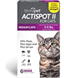 TevraPet Actispot II Flea Prevention for Cats- 6 doses