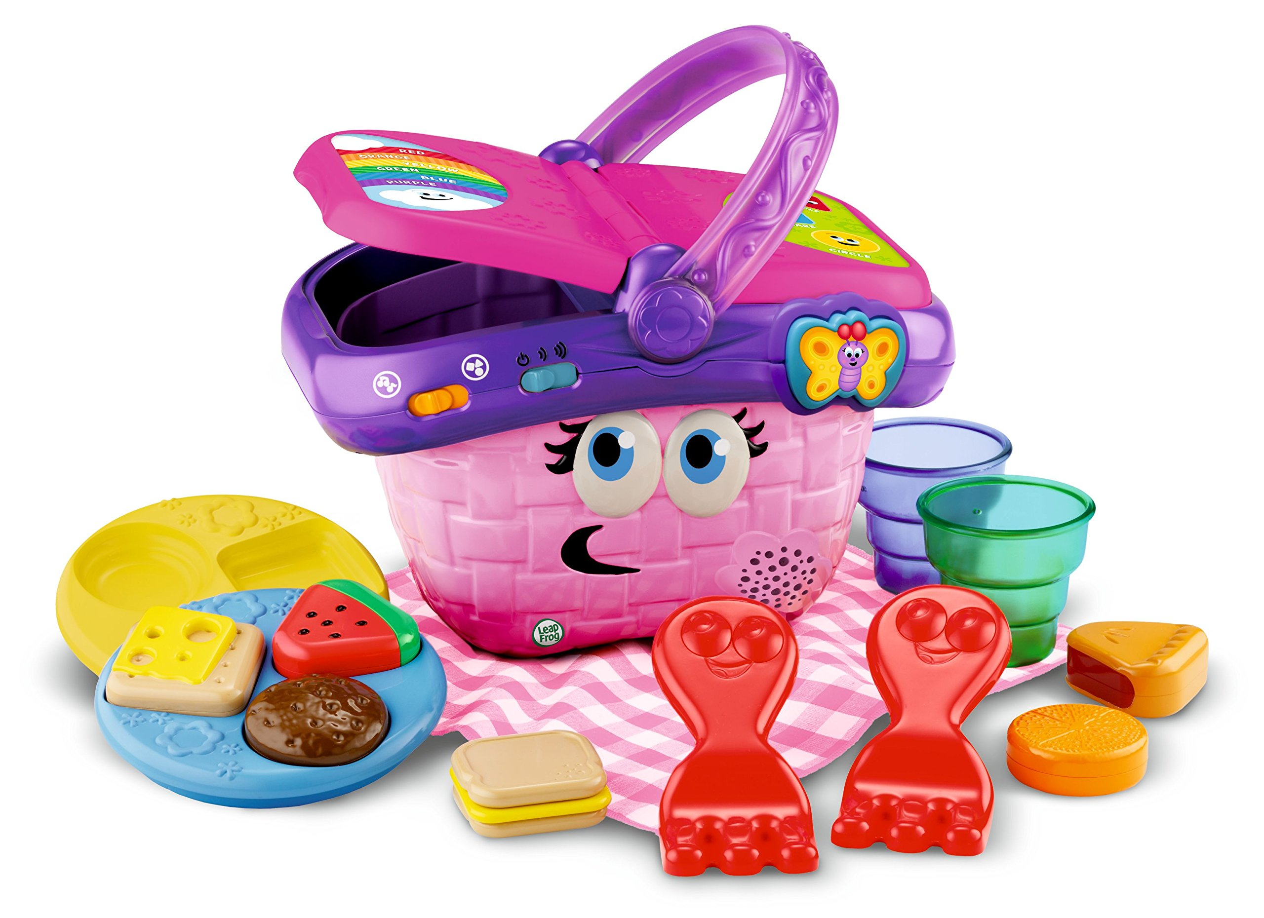 LeapFrog Shapes And Sharing Picnic Basket, 7.66 x 6.50 x 10 Inches