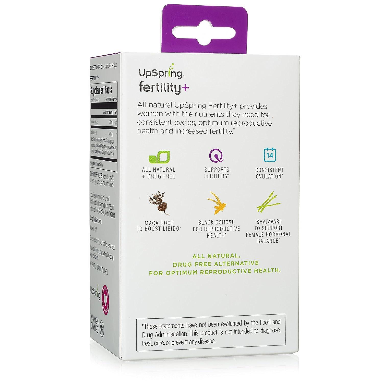 Amazon Upspring All Natural Fertility Supplement Pills For