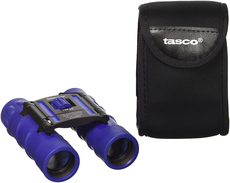 Tasco Fernglas 10X25 Essentials, FRP Compact, Red - Mira para Caza, Color Rojo, Talla Standard 168RBR