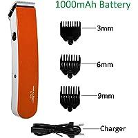 ROCK LIGHT RL-TM216 Professional Cordless(Wireless) Beard Trimmer For Men (Orange)-301