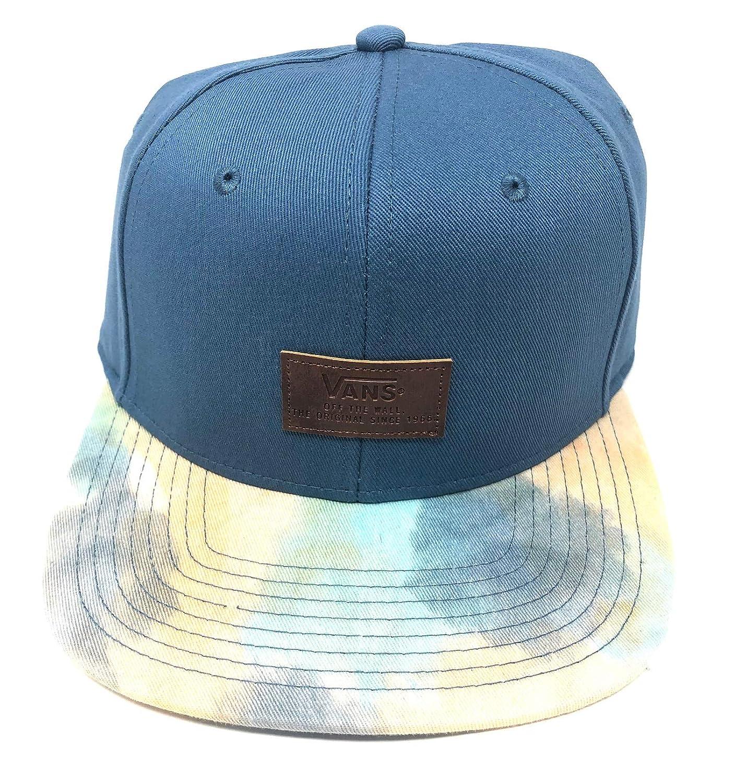 e923e53be Vans Off The Wall Men's Allover It Snapback Hat Cap - Blue/Tie Dye ...