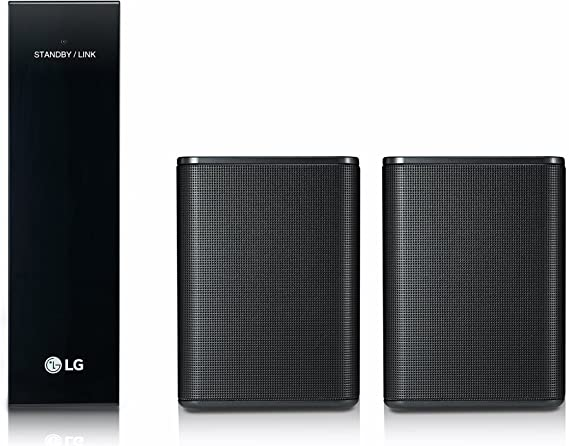 LG SPK8 140W Negro Altavoz - Altavoces (2.0 Canales, Inalámbrico, 140 W, Negro)